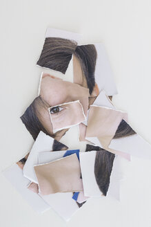 Torn apart image of person - MELF000067