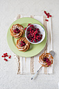 Mini cakes and red currants - MYF001065