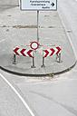 Germany, Duesseldorf, traffic signs on - VIF000336