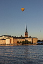 Sweden, View towards Riddarholmen, part of Gamla Stan, the central old town of Stockholm - ZMF000406