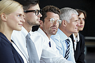 Group of businesspeople in a row - CHAF000397