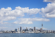 New Zealand, Auckland, Skyline, City Center, Central Business District - GWF004259