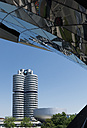 Germany, Bavaria, Munich, BMW World and BMW Tower - VI000355