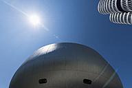 Germany, Bavaria, Munich, BMW World and BMW Tower - VI000358