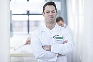 Portrait of confident doctor - ZEF006065