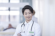 Portrait of smiling doctor - ZEF006071