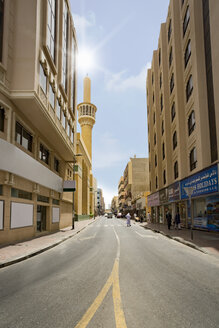 UAE, Dubai, street in Bur Dubai - NKF000303