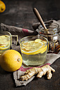 Hot lemon-ginger infusion with honey - SBDF002179