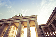 Germany, Berlin, Berlin-Mitte, Brandenburg Gate, Quadriga - CMF000304