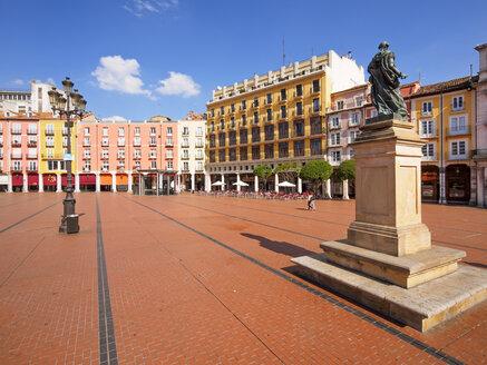 Spain, Castile and Leon, Burgos, Plaza Major - LAF001440