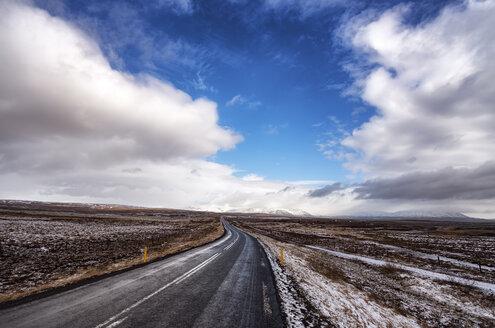 Iceland, Minniborgir, Highway 37, road - SMAF000357