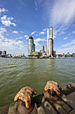 Netherlands, Rotterdam, Feijenoord, view to city centre - THAF001413