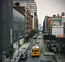 USA, New York City, View from High Line to East River - ON000845