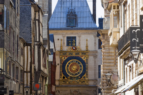France, Rouen, Old town, close up of the - KLR000075