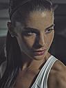 Portrait of a female athlete in gym - MADF000486