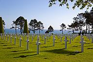 France, Colleville-sur-Mer, Omaha Beach, military cemetery - KLR000076