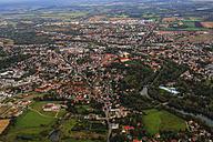 Germany, Bavaria, Dachau, Aerial view - PEDF000058