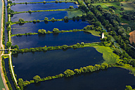 Germany, Ismaning, Isat storage lake and fish ponds - PEDF000142
