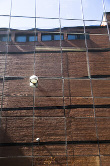 Estonia, Tallinn, Reflection on a facade - FCF000747