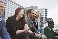 Group of friends outdoors - STKF001400