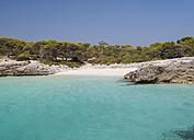 Spain, Menorca, Ciutadella, Talaier beach - RAEF000304