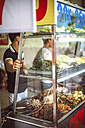 Vietnam, Hanoi, food stall by the roadside - EH000121