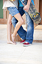 Legs of young couple in love - TOYF001147
