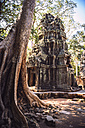 Cambodia, Ruin of Temple in Angkor Thom - EHF000197