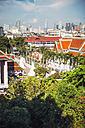 Thailand, Bangkok ,View from Wat Saket , The Golden Mountain Temple, Phu KHao Thong - EHF000209