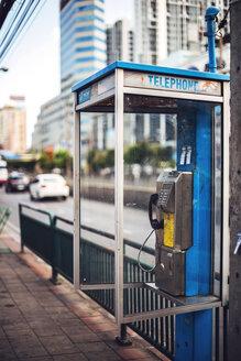 Thailand, Bangkok, Dirty telephone boot - EH000210