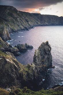 Spain, Galicia, Carino, Galician coast at Ortegal Cape - RAEF000349