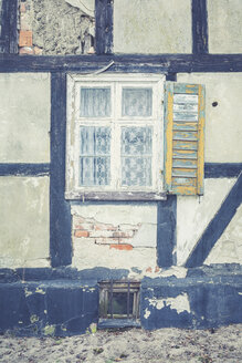 Germany, Brandenburg, old timber-framed house - ASC000330