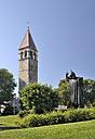 Croatia, Split, statue of Gregory of Nin - BTF000367