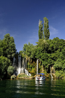 Croatia, Krka National Park, Roski Slap, waterfall - BTF000376