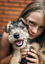 Girl with puppy - MGOF000531