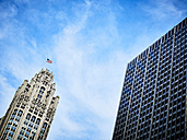 USA, Illinois, Chicago, High-rise buildings, Tribune Tower left - DISF002188