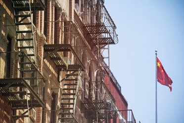 USA, New York City, Buildings in Chinatown - ONF000893