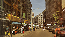 USA, New York City, Street life in Chinatown - ON000899