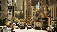 USA, New York City, Cars in a Manhattan street - ONF000904