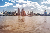 USA, New York City, View of Manhattan skyline and Hudson River - ONF000913
