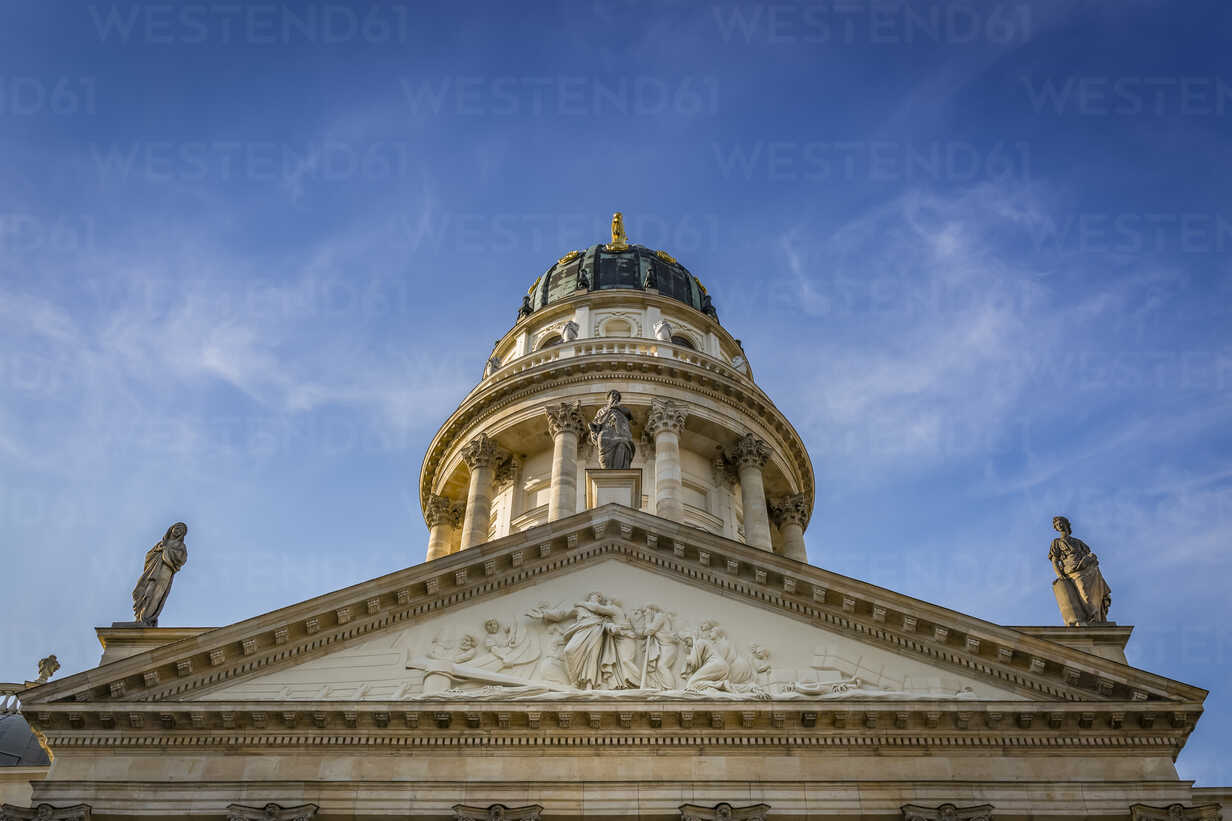 Germany, Berlin, top of German cathedral at Gendarmenmarkt - NKF000387 - Stefan Kunert/Westend61
