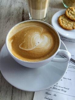Cappuccino, Latte Macchiato and cookies - ODF001242