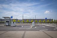 Germany, Berlin Brandenburg Airport, gates of a car park - NK000402