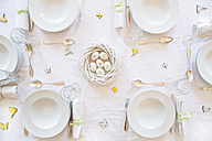 Laid Easter table - LVF003771