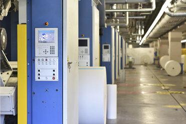 Modern printing machines in a printing shop - LYF000459