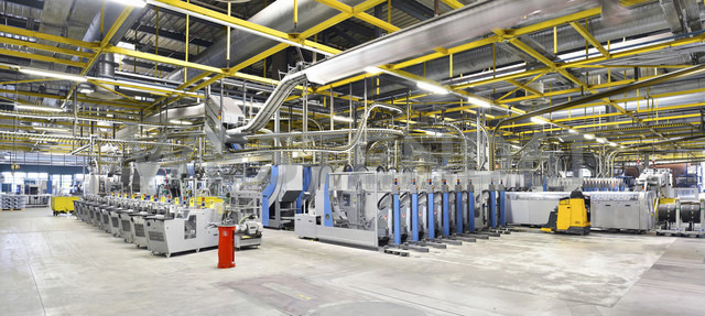 Machines for transport and packaging in a printing shop - LYF000471