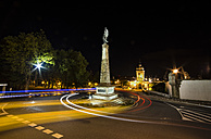 Spain, Galicia, Ferrol, Galicia square in the center of Ferrol city - RAEF000460