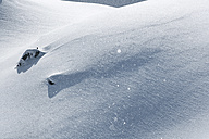 Austria, Tyrol, Ischgl, snowfall in the mountains - ABF000666