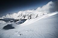 Austria, Tyrol, Ischgl, winter landscape in the mountains - ABF000648
