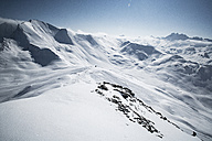 Austria, Tyrol, Ischgl, winter landscape in the mountains - ABF000667